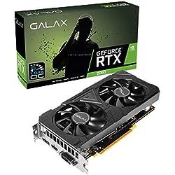 GALAX GeForce® RTX 2060 EX (1-Click OC) 6GB GDDR6 192-bit DP/HDMI/DVI-D Graphic Card