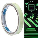 YUNGUANG 5M * 40/50mm Nastro luminoso verde/decorazione luminosa del palcoscenico/incolla la decorazione della linea di cintura/fluorescente/luminosa (Dimensione : 4cm wide)