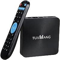 TV Box - TUXWANG Android 6.0 TV Box Quad Core 360 ° Télécommande 4K WIFI Q1 Pro 16.0 Miracast 4K / 2K 1GB + 8GB, H.265, 3D