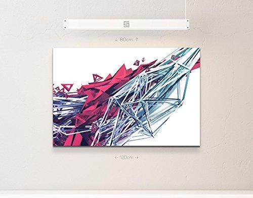 abstraktes Bild – dreidimensionale Formen