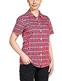 Jack Wolfskin Damen Bluse River Shirt Women, Indian Red Checks, L, 1400991-7286004