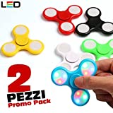 9-bakaji-spinner-con-led-luminosi-fidget-antistress-2-pezzi-promo-pack-gioco-rilassante-3d-tri-spinn