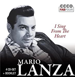 Mario Lanza: I sing from the heart (4 CD FabFour)