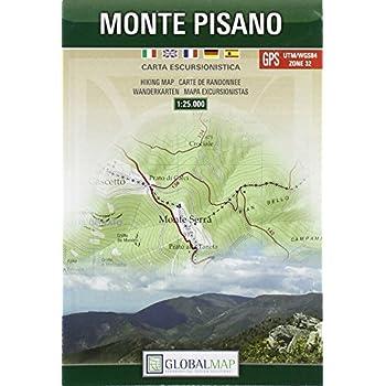 Monte Pisano. Carta Escursionistica 1:25.000