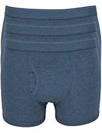 Ex Store Mens Pack of 3 Cotton Jersey Keyhole Trunks