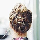 F Fityle Pinces à Cheveux, Épingle à Cheveux pour Femme Cadeau Saint Valentin Forme de Ciseau