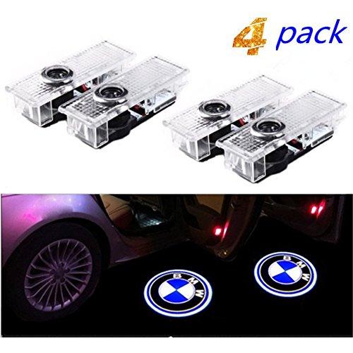 Bodhi Luce per porta auto Logo Light,4 pezzi di luci per porte auto LED 3D Car Light Entry illuminazione lampada del proiettore di benvenuto Logo Light