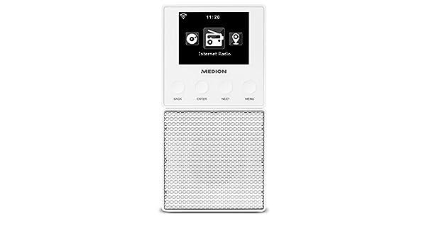 doppia sveglia e impostazioni Bianco Majority Wolfson Internet Wireless Radio WiFi Bluetooth