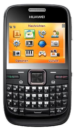 Huawei Huawei G6603 Dual-SIM Qwertz Handy (6,1 cm (2,4 Zoll) Display, 2 megapixel Kamera) schwarz