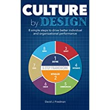 Culture by Design: 8 simple steps to drive better individual and organizational performance (English Edition)