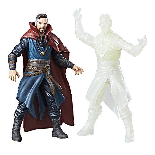 Marvel Legends - Action Figures Doctor Strange and Doctor Strange Astral, 9,5 cm, 2 Units