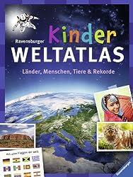 Ravensburger Kinder-Weltatlas: Länder, Menschen, Tiere und Rekorde. Mit allen Flaggen der Welt