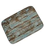 LLQ Indoor-Fußmatte, Schwammfüllung Weich Teppich Dekorative Bodenmatte (60 x 90 cm)