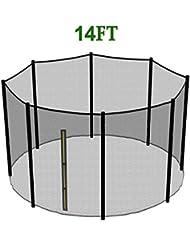 Greenbay Trampoline avec filet de sécurité autour de Enceinte 6FT 8FT 10FT 12FT 13FT 14FT