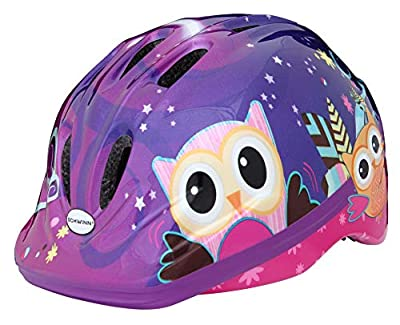 Schwinn Girls Owl Toddler Helmet, Purple, Small by Pacific Cycle
