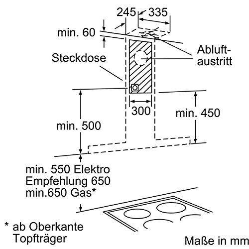 Siemens LC97BC532 iQ300 Wandhaube - 10