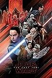 Star Wars Episode 8 Poster Red Montage (61cm x 91,5cm) + Ü-Poster