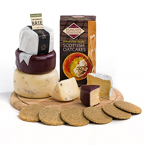Hay Hampers Tiered Cheese 'Cake'- FREE UK Delivery