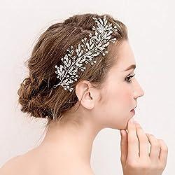 Tocado de pelo de novia