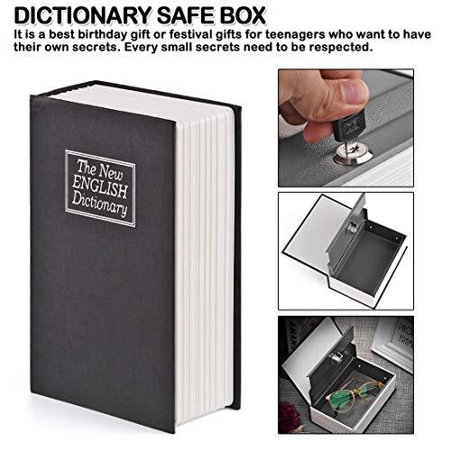 Zerkosvort Wörterbuch Mini Safe Buch Home Security