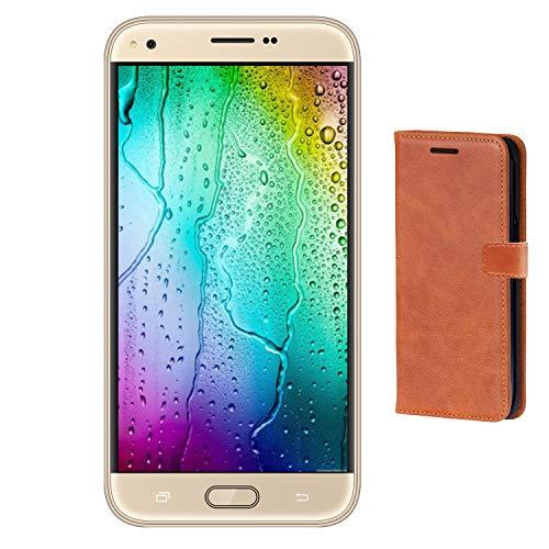 Teléfono Móvil,9Pcs Smartphone de 5.5 Pulgadas 16GB ROM Smartphone Dual Sim HD+ 1440*720 Pixeles Cámara de 5MP 3G+ V...