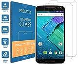 PREMYO Verre Trempé pour Motorola Moto X Style Film Protection Écran pour Moto X Style Vitre Protecteur Compatible avec Motorola Moto X Style Dureté 9H Bords 2,5D Anti-Rayures sans Bulles Résistant