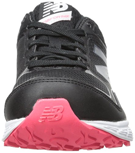 New Balance - Fitness Running Amortiguación Neutral, Scarpe tecniche Donna Nero (BLACK/PINK (018))