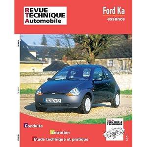 Revue technique de l'Automobile N°604.1 : Ford Ka essence
