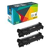 2 Do it Wiser ® Toner Kompatibel für Dell E514dw, E515dw, E310dw, E515dn - 593-BBLH (2.600 Seiten)