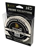 Stork HD, 4-Fach geflochtene Angelschnur 300m (Weiß, 30 lbs / 13.6 kg / 0.23 mm)