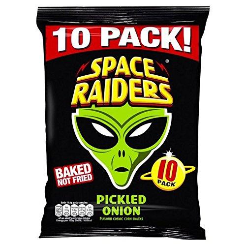 Space Raiders 10 Stück Eingelegte Zwiebel 10 X 11,8 G (Packung mit 6)