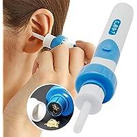 Limpiador de cera de oído con 2 puntas de silicona extraíbles; para bebés, jóvenes y adolescentes adultos