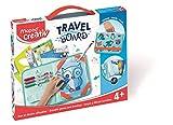 MAPED Creativ - Valisette Ardoise Dessins Effaçables Animaux - Loisirs Créatifs enfants - Mini-Ardoise Transparente