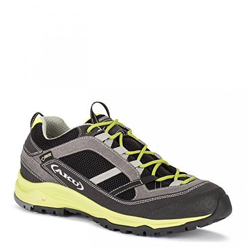 AKU - Ego Gtx, Scarpe da escursionismo Unisex – Adulto 110 BLACK/GREEN