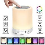 kimfoxes Speaker Bluetooth LED cambia colore lampada dimmerabile Touch Notte Luce Lampada Da Tavolo Decorativa umore luce notturna luce atmosfera Mood Light Lampada Da Lettura Camera di luce lampada da tavolo lampada da tavolo lampada da tavolo lampada da comodino