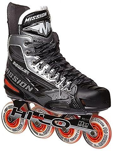 Mission Inhaler NLS3 Roller Hockey Skates Sr, Storlek:7.5 = 42.5;width:EE