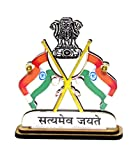 #8: Indian Flag with Staymev Jayte For Office & Car Home