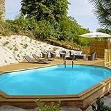 Unbekannt Gre–Pool aus 637x 412x 133cm mit Sandfilteranlage