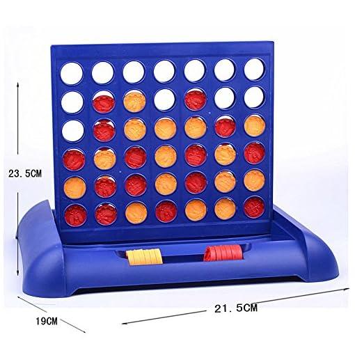 Demiawaking-Kid-Child-Connect-4-Spiel-Kinder-Bildungs-Brettspiel-Spielzeug