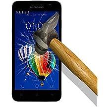 9H Tempered Glass - Protector de Pantalla para [ Lenovo A8 A806 4G ] Cristal Vidrio Templado Premium, Ultra Resistente a Arañazos, Dureza 9H