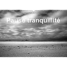 Pause tranquillité : Photos de la mer prises en pose longue. Calendrier mural A3 horizontal 2016