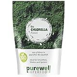 CHLORELLA Algenpulver - Bio Superfood - Für natürliche Körperentgiftung
