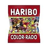 Haribo Color Rado, Caramelle Gommose alla Frutta, Liquirizia, Sacchetto, 1 kg