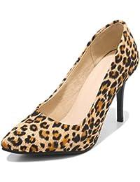 15a22b5eb4eb Amazon.fr   Jaune - Escarpins   Chaussures femme   Chaussures et Sacs