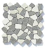 M-008 Marmor Bruchstein Badezimmer Mosaikfliesen Naturstein Fliesen Lager Verkauf Stein-Mosaik Herne NRW