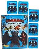 Panini - Dragons 3 Das Buch der Drachen - Sammelset Album + 5 Booster Tütchen - 25 Sticker deutsche Ausgabe