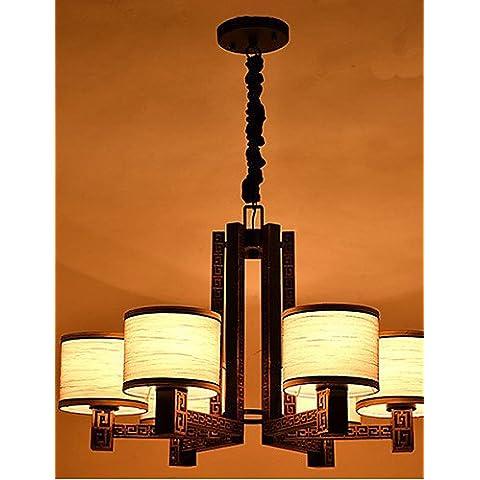 ZHY Nuovo stile cinese lampada per il Salotto lampada 6 , bianco caldo