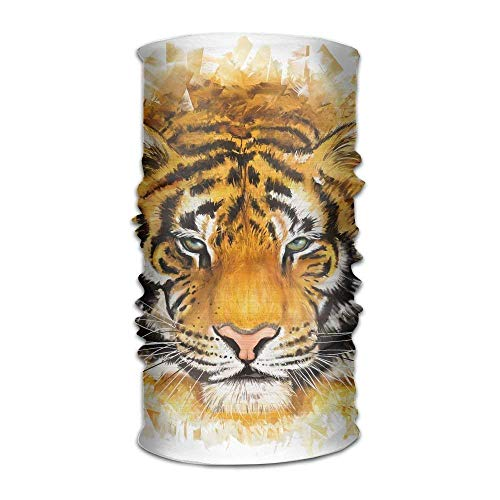 Rghkjlp Headwear Tiger Face Outdoor Scarf Headbands