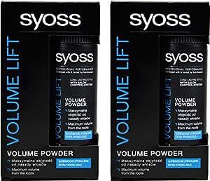 2x Syoss Volume Lift Styling Powder Für Maximales Volumen Der Frisur - (2x 10g)