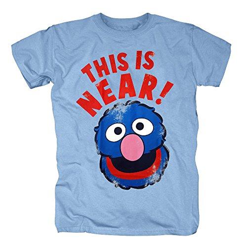 TSP Sesame St. Grover Near and Far T-Shirt Herren S (Hund Muppet Kostüme)